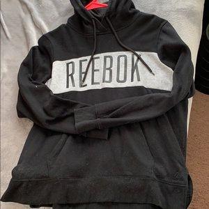 Reebok black and grey hoodie